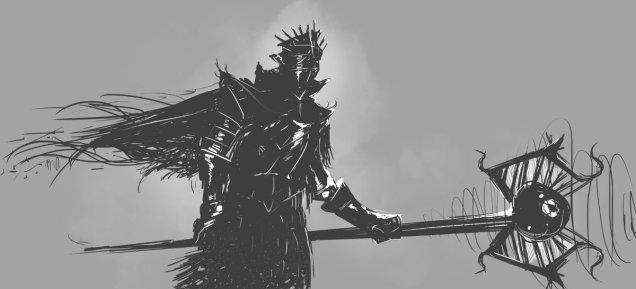 Knight Sketch 03